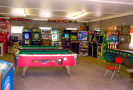 Whip-o-wheel Game Room